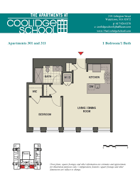 the apartments at coolidge in watertown ma floor plans