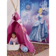 Barbie Princess Bedroom by Disney Princess Cinderella U0027s Night Photo Wall Mural 254 X 183 Cm