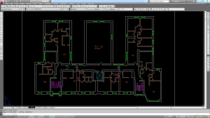 autocad is instrumental in developing floor plans with