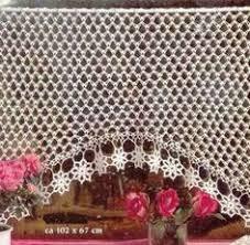 Crochet Curtain Designs Häkeln U0026 Filethäkeln Gardine Crochet Curtain Cortinas Bonitas