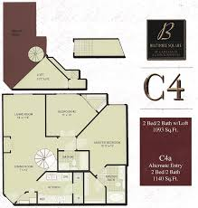 2 Bedroom Condo Floor Plan Biltmore Square Condo Floor Plans