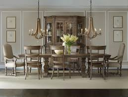 formal dining set with rectangular table upholstered arm chairs