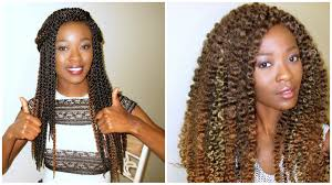 crochet twist hairstyle 3d cubic twist crochet braids ombre vs highlights giveaway