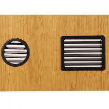 plastic vents for cabinets large vent grommets select option rockler woodworking and hardware