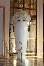 flower arrangement at a hotel lobby in paris decor
