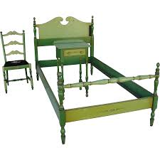 American Furniture Bedroom Sets by Stickley Quaint American Furniture Hand Painted Bedroom Set From