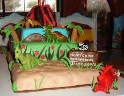 maysie mae u0027s signature cake design age of dinosaurs birthday cake