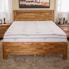 queen mattress bed frame best 25 wooden queen bed frame ideas on