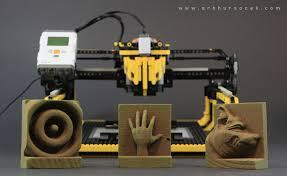 3d milling machine arthur sacek lego 3d milling machine