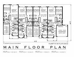 Town House Plans 2 Bedroom Townhouse House Plan Th130 29 32 1200 Sq Feet