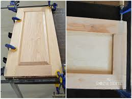 Build Your Own Kitchen Cabinet Doors Remodelaholic How To Paint Cabinet Doors