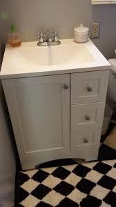 Glacier Bay Bathroom Cabinets Glacier Bay Lancaster 24 In W X 19 In D Bath Vanity In Amber