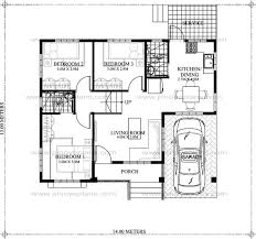 floor plan 4 bedroom bungalow 10 bungalow single story modern house with floor plans and