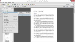 insert pages into a pdf in acrobat tutorial teachucomp inc