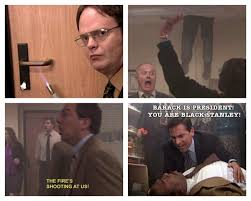Fire Drill Meme - dwight schrute on twitter fire drill http t co 6etxo0xtbq