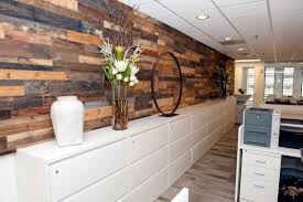 Wood Wall Panel by Easy Install Pallet Wood Wall Sustainable Lumber Company