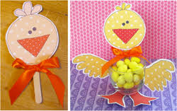 easter table favors party favors and ideas