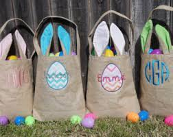 personalized easter baskets for kids embroidery personalized gifts and more by sewwhatfun on etsy