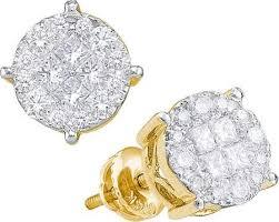 cheap diamond earrings 14k gold diamond earrings zeige earrings
