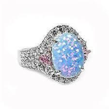 ebay rings opal images Vintage opal ring ebay JPG