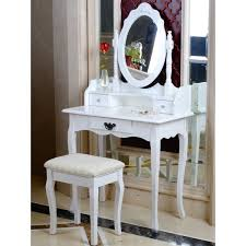 small dressing table with mirror and stool cheap price mdf dressing table with mirror for bedroom furniture