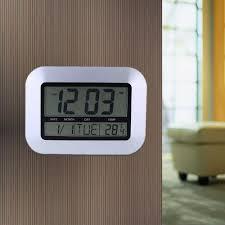 digital office wall clocks digital sharp digital auto time set