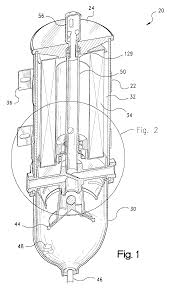 patent us6555000 fuel filter with bypass valve google patents