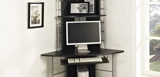Tall Computer Desk With Shelves Computer Desk Karenkellywriter Com