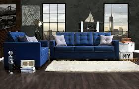 Fabric Sofa Set For Home Blue Living Room Set Home Design Ideas