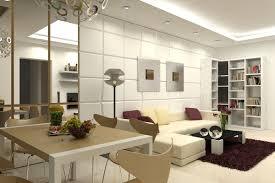 appealing white apartment interior decorating idea in living room