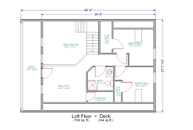 cottage floor plans with loft charming design small cabin floor