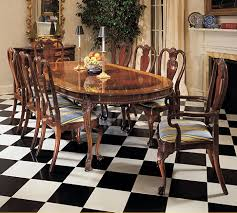 Chippendale Dining Table  From Karges - Chippendale dining room