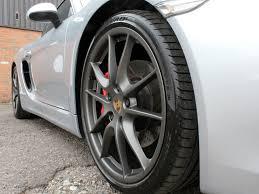 porsche cayman tyres porsche cayman receives an alligator like shine