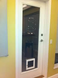 Exterior Cat Door Sliding Glass Doors With Built In Doggie Doors Doors Cat