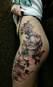 chronic ink toronto cherry blossoms and butterfly