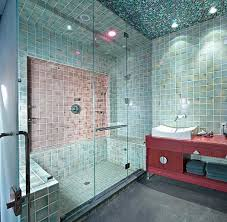 Steam Shower Bathroom Frameless Steam Shower Doors Contemporary Bathroom With