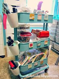 Raskog Cart Shelly Bailey My 2014 Craft Room Tour And Video