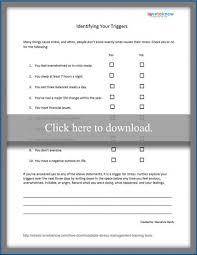 free downloadable stress management training tool