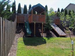 landscaping ideas for backyard with slope articlespagemachinecom