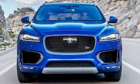 jaguar f pace svr 2017 erste fotos autozeitung de
