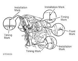 1997 toyota 4runner timing belt 1997 toyota 4runner serpentine belt routing and timing belt diagrams