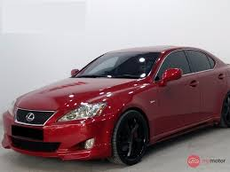 red lexus is 250 2007 lexus is250 for sale in malaysia for rm69 800 mymotor