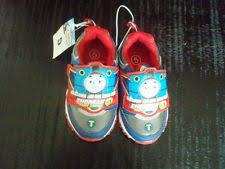 thomas the train light up shoes thomas the tank engine velcro light up shoes infant size 5 ebay