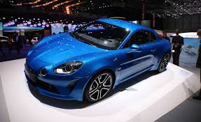 renault alpine renault reveals alpine a110 mid engined sports car news car
