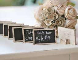 set of 100 chalkboard name cards escort cards place cards rustic