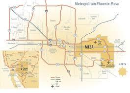 Phx Airport Map Market Access City Of Mesa