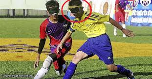 Paralympics Blind Football Msia Among Asia U0027s Best In Blind Football How Do They Even Play
