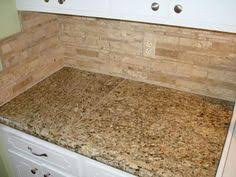 Travertine Backsplash Tiles by We Selected A Rich Venetian Gold Granite With An Simple Yet