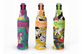 wine bottle wraps illustrated wine bottle wraps illustrated wine bottle wrap
