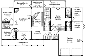 sunroom floor plans southern style house plan 3 beds 3 00 baths 2100 sq ft plan 21 177